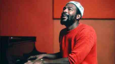 MARVIN GAYE AT THE PIANO