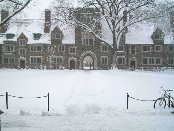 PRINCETON IN THE SNOW