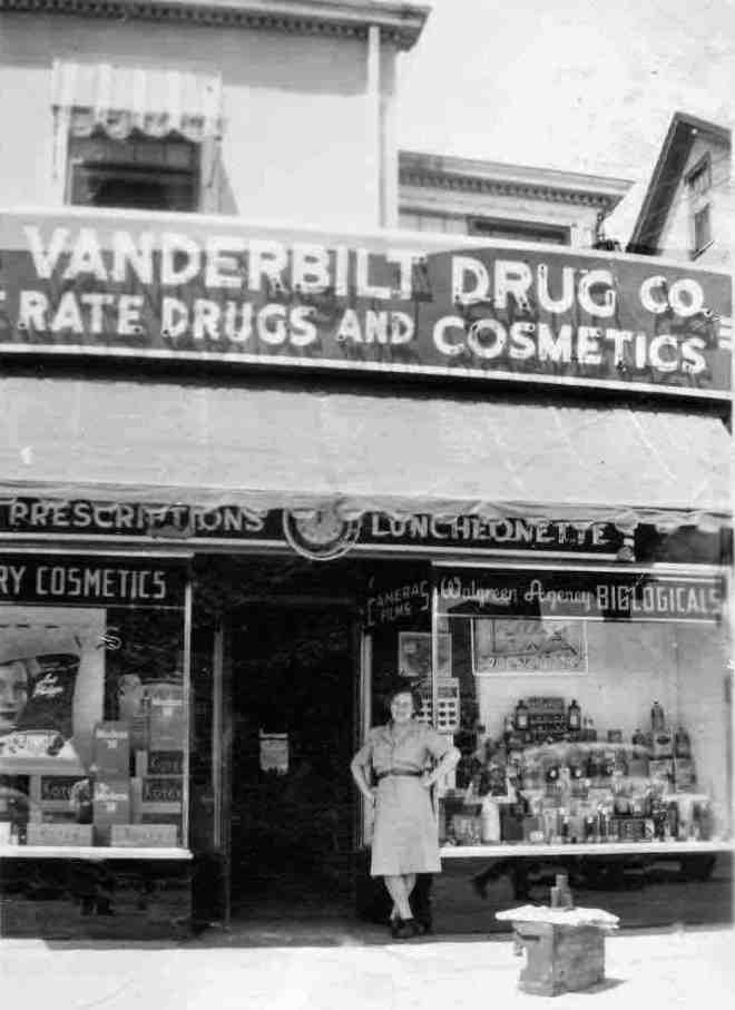 "VANDBERBILT""S DRUG STORE a few years before my time copy"
