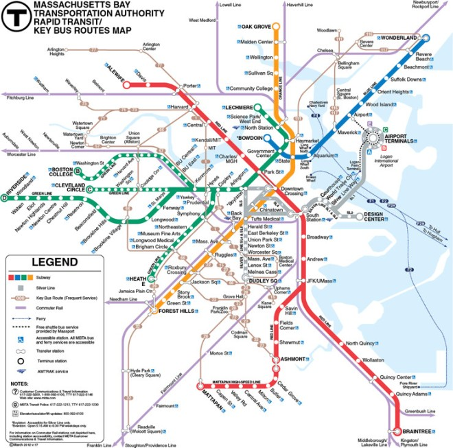 THE BOSTON T SYSTEM