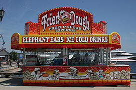FRIED DOUGH STAND
