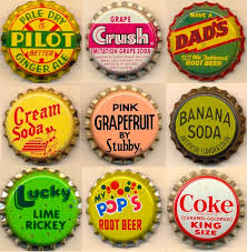SODA POP BOTTLE TOPS