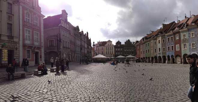 Stare Miasto (Old Town) Poznań, Poland copy